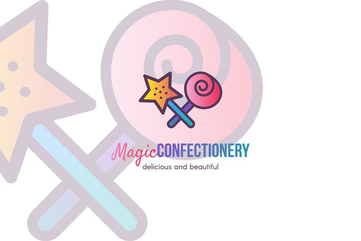 Thumbnail for Magic Confectionery  Logo Template