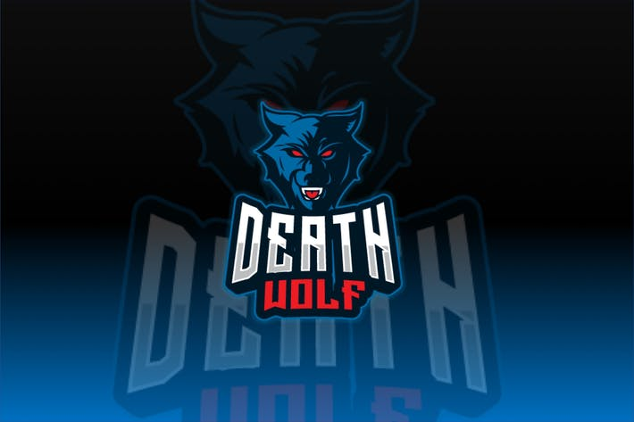 Thumbnail for Death Wolf Sport and Esport Logo Template