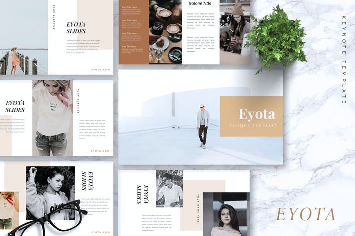 Thumbnail for EYOTA - Fashion Keynote Template