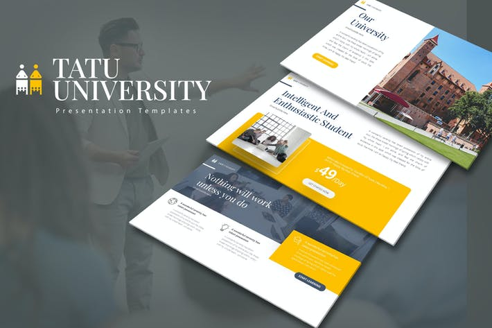 Thumbnail for Tatu University Keynote Templates