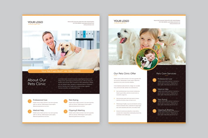 Thumbnail for Flyer – Pets Care