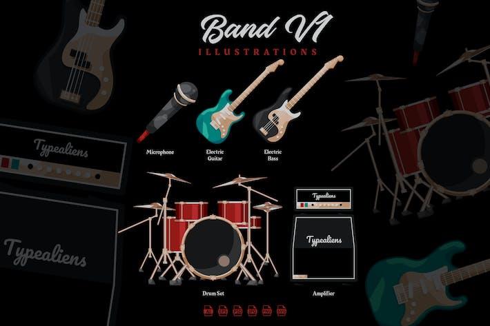 Band V1 - Illustrations
