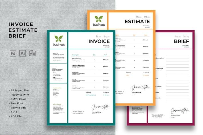 Thumbnail for Invoice Estimate Brief