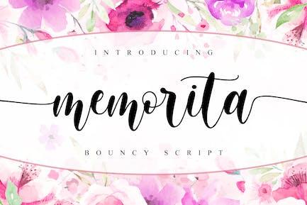 memorita - Bouncy Script