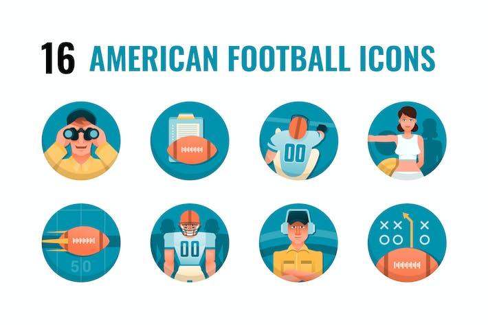 16 amerikanische Fußball-Ikonen