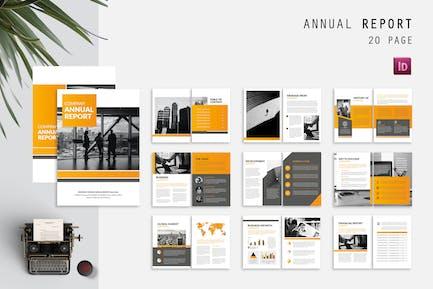 Rapport annuel sur l'historique de l'entreprise