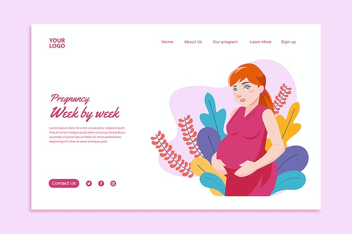 Thumbnail for Healthy pregnancy User Interface