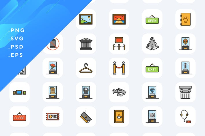 Thumbnail for 50 Museum Icons