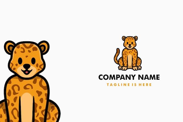 Thumbnail for Cute Leopard Cartoon Logo