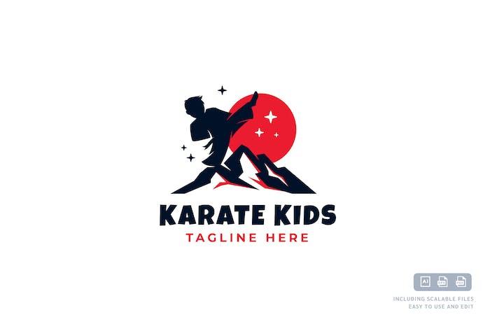 Thumbnail for Karaté Kids - Modèle de conception de Logo