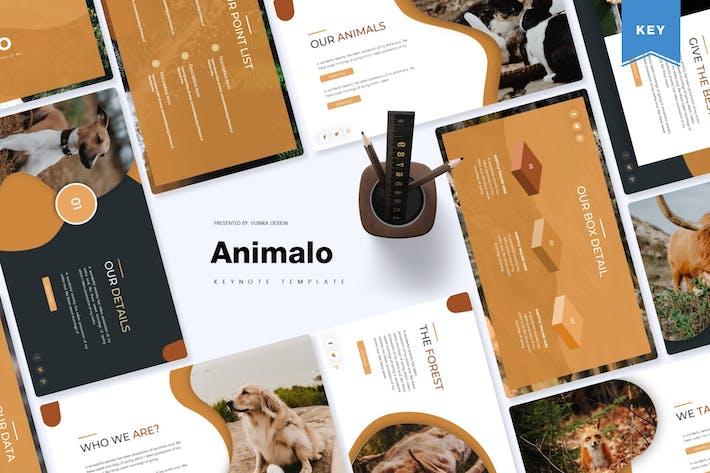 Thumbnail for Animalo | Шаблон Keynote
