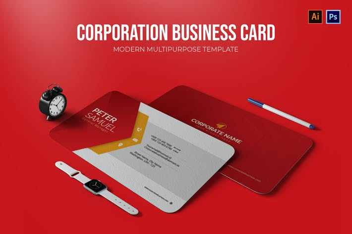 Thumbnail for Corporation - Business Card