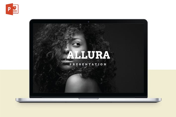 Thumbnail for ALLURA - Multipurpose PowerPoint Template V56