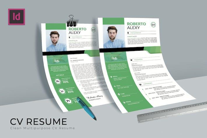 Thumbnail for Photographer CV Resume
