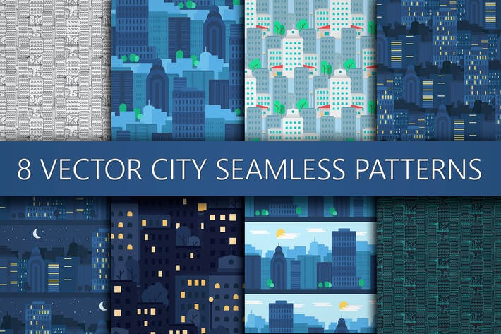 Cover Image For City Patterns