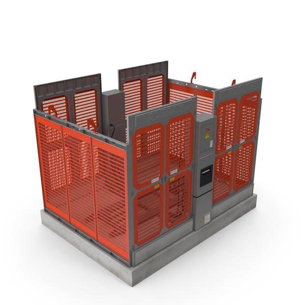 Construction Hoist Foundation