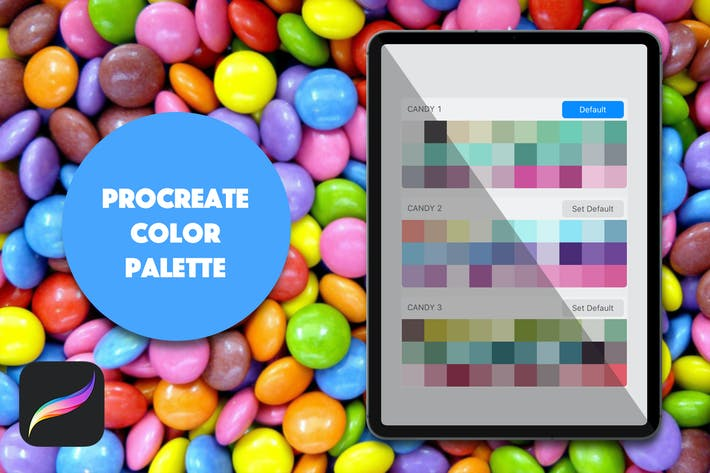 Thumbnail for Procreate Palette - Bright Candy