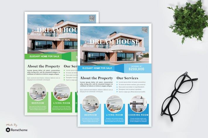 Thumbnail for Uenno - Real Estate Promotion Flyer HR