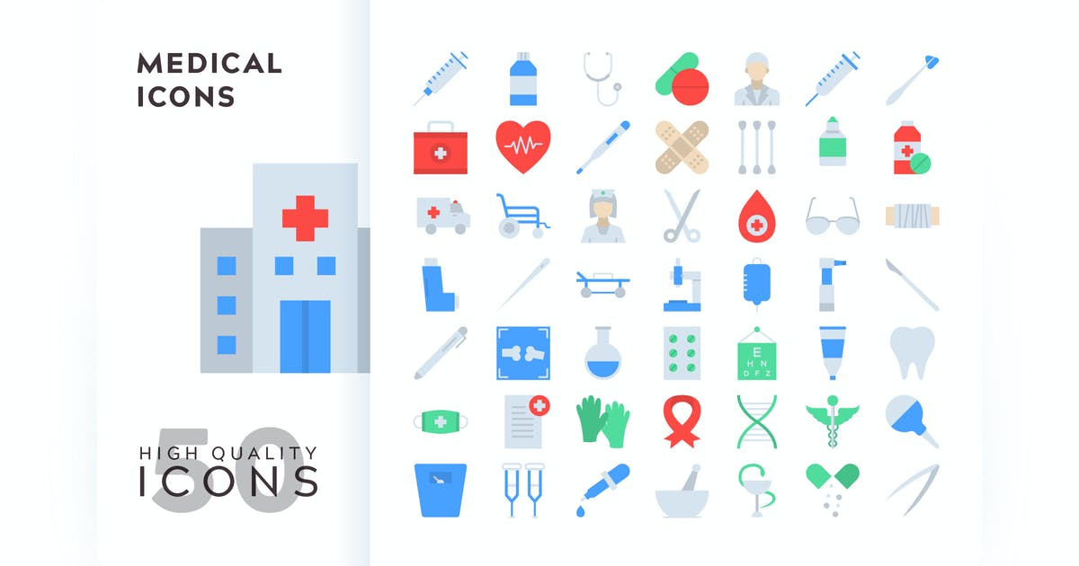 Download MEDICAL FLAT COLOR by subqistd