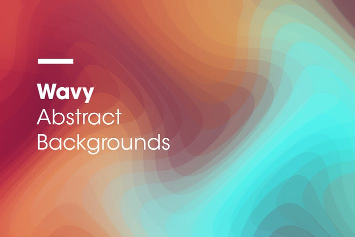 Thumbnail for Wavy | Abstract Backgrounds