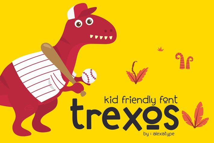 Cover Image For Trexos Font