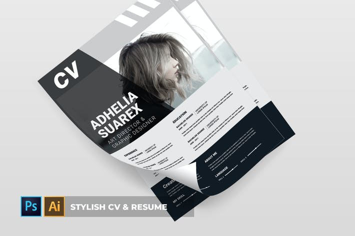 Thumbnail for Stylish | CV & Resume
