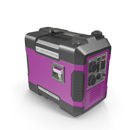 Portable Generator Pink