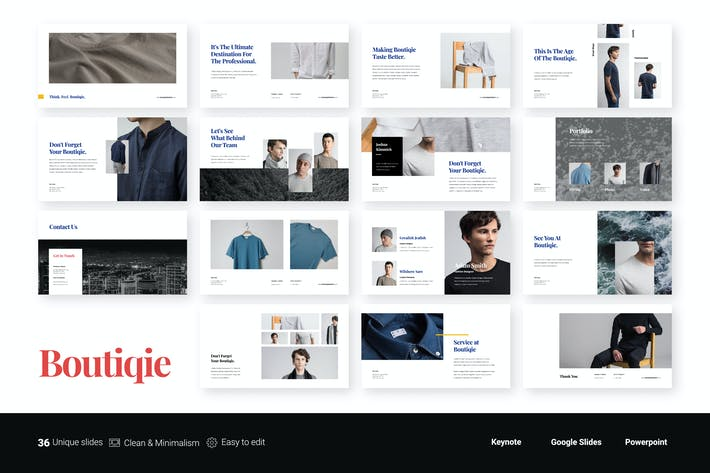 Thumbnail for Boutiqie - Fashion Presentation Template