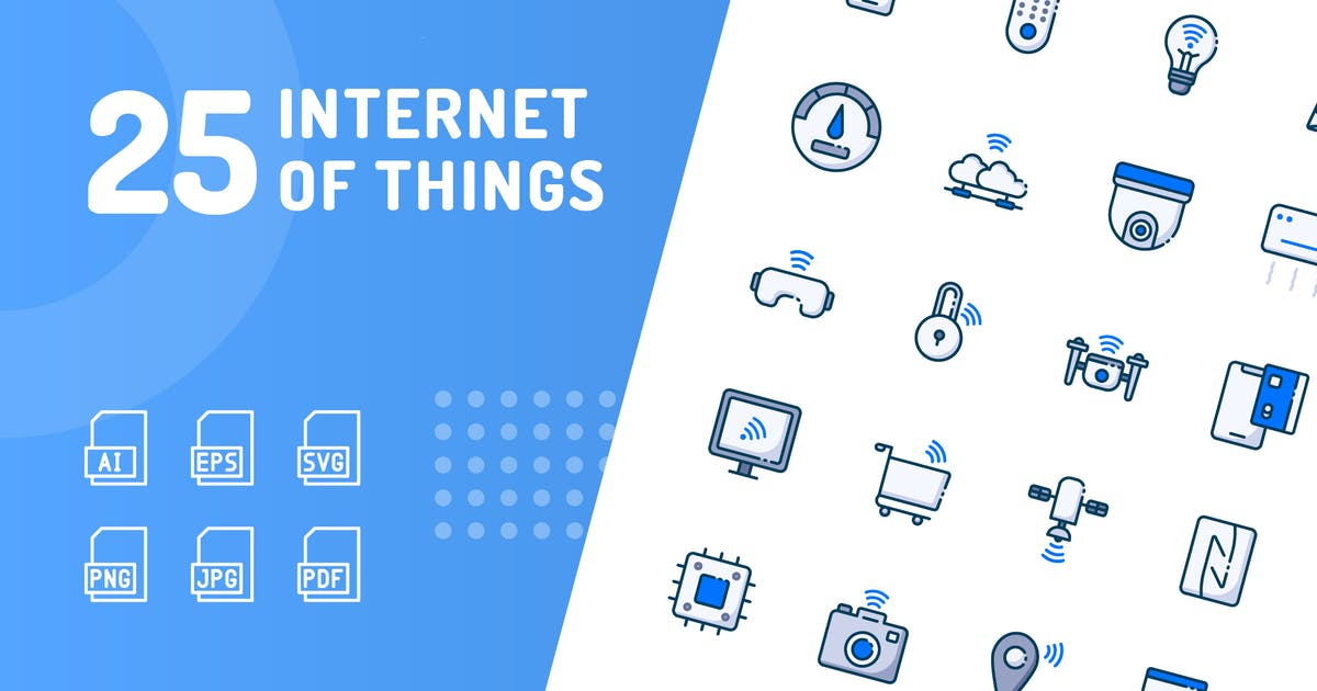 Download Internet of Things Color Icons by kerismaker