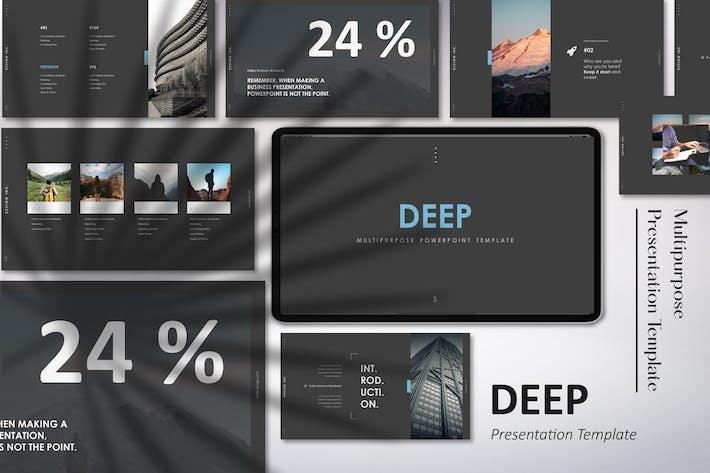 Thumbnail for Deep - Multipurpose Google Slides