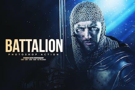 Battalion Photoshop Action