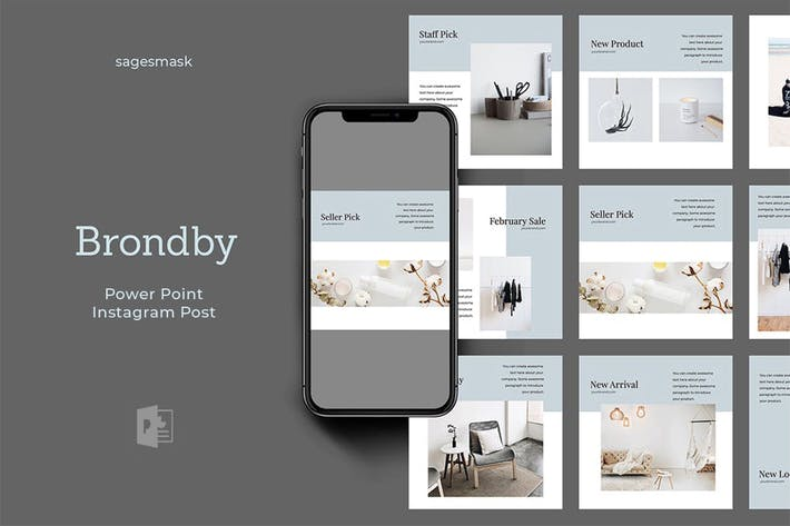 Brondby Powerpoint Instagram Post