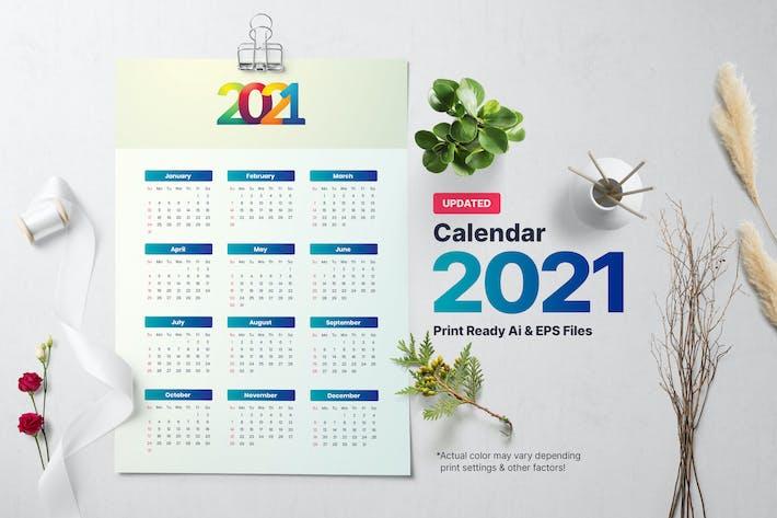 Thumbnail for Simple Calendar 2021