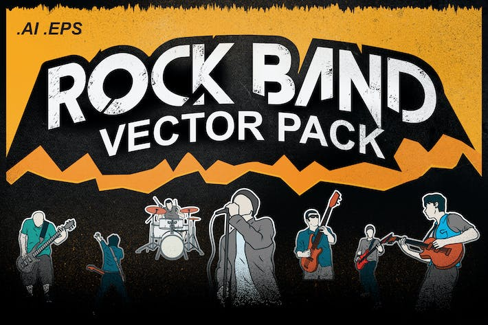 Thumbnail for Rock Band Vector Pack