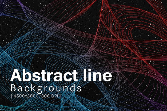 Cover Image For Abstract Line Backgrounds