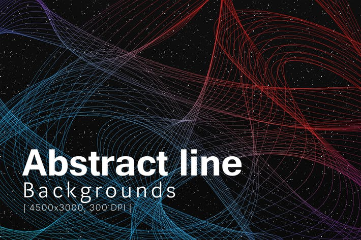 Thumbnail for Abstract Line Backgrounds