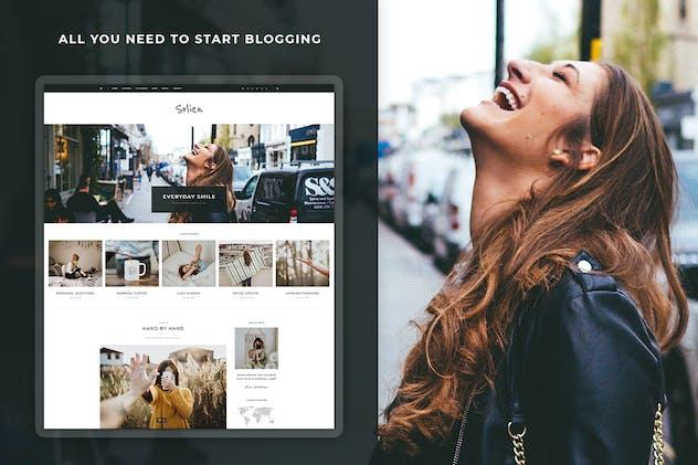 Solien - Blog & Shop WordPress Theme