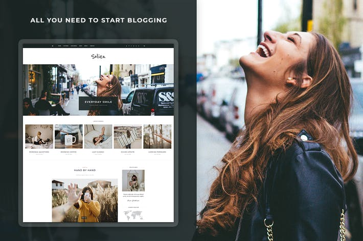 Solien - Blog & Shop WordPress Theme