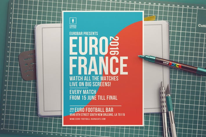 Thumbnail for Football Cup Flyer