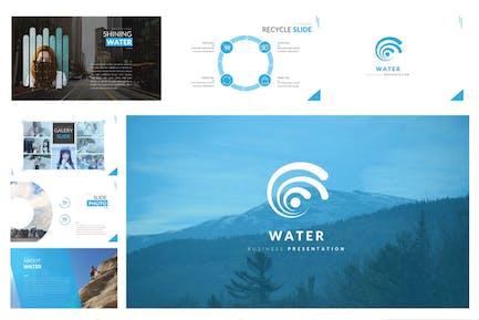 Шаблон бизнеса в области водных ресурсов