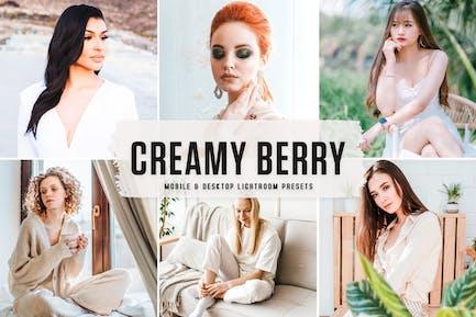 Creamy Berry Mobile & Desktop Lightroom Presets