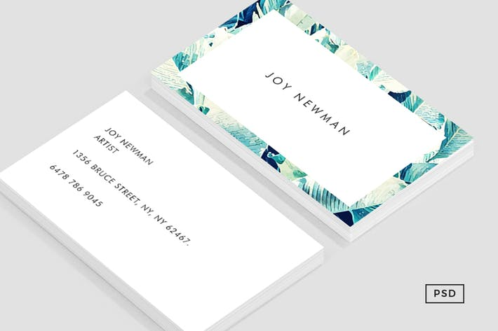 Thumbnail for Banana Leaf Crush Business Card Template