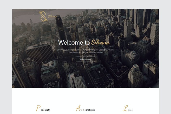 Thumbnail for Silvana - Agency Unbounce Landing Page
