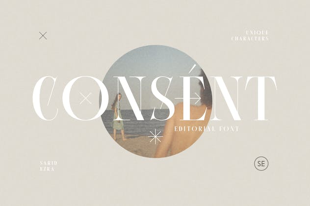 Consent - Editorial Serif Font - product preview 0