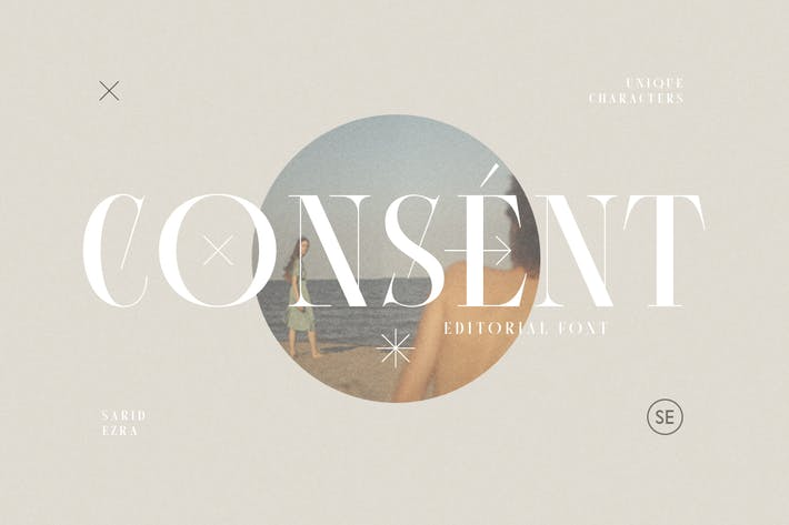 Thumbnail for Consent - Editorial Serif Font