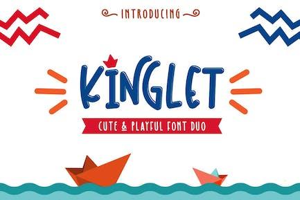 Kinglet - Cute Font Duo
