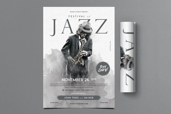 Thumbnail for Folleto del Festival de Jazz