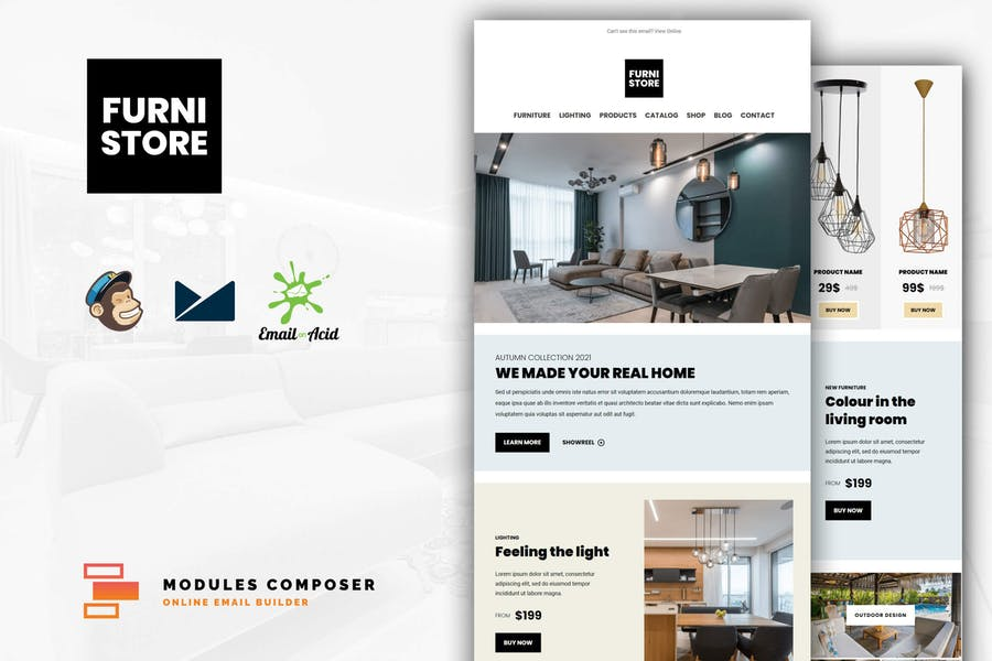 Furnistore - E-Commerce Responsive Email Template