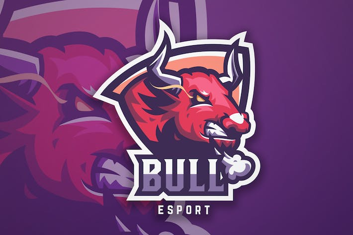 Thumbnail for Bull Sport And Esport Logo Vector Template