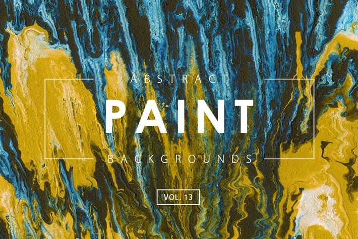 Thumbnail for Abstract Paint Backgrounds Vol. 13